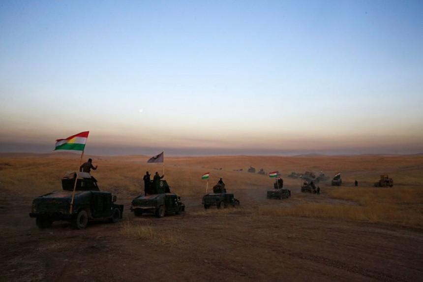 Kurde u Siriji bombardovala Turska
