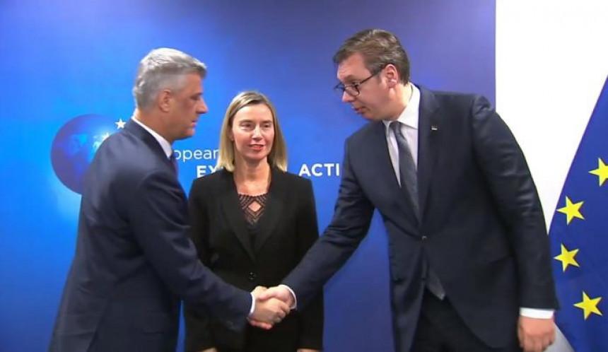 Vučić i Tači sutra u Briselu