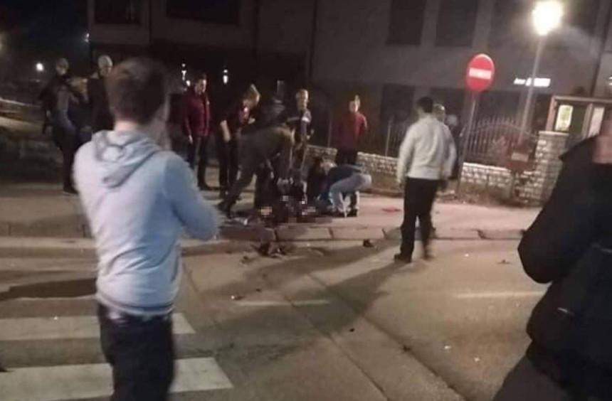 Autom udario u majku sa djecom