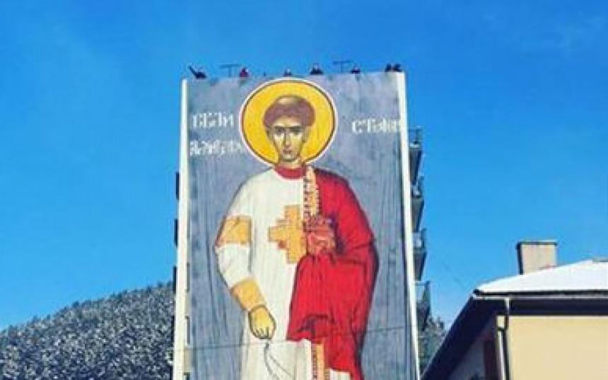 Ikona Sv. Stefana ukrasila Foču