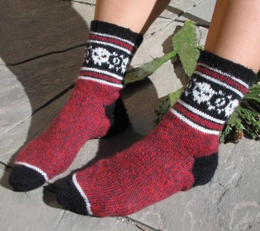 Čarape koje se peru jednom godišnje!