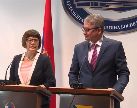 Parlamentarci BiH u posjeti Srbiji