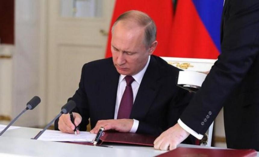 Putinova kolumna: SAD arhivirale sporazum