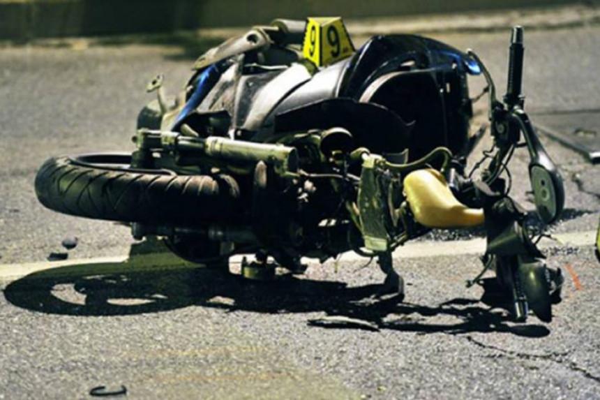 U nesreći stradao motociklista