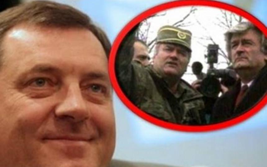 Dodik i Karadžić - nekad i sad