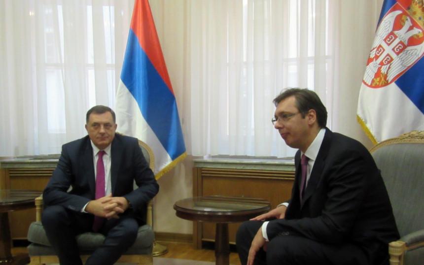 Dodik - Vučić: Planovi i projekti