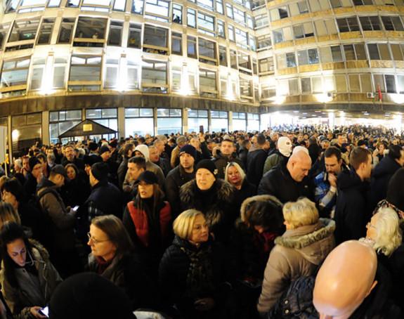 Protest građana u Beogradu