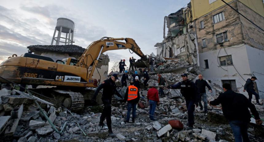 Novi zemljotres u Albaniji, osjetio se i u Crnoj Gori