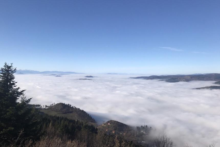Gusta magla i smog: Otkazani letovi u Sarajevu