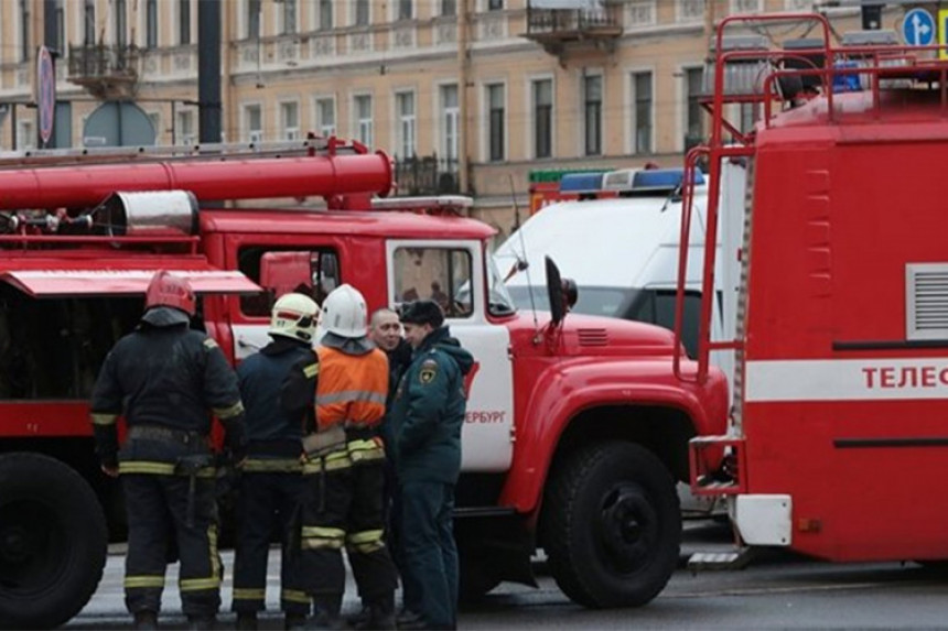 Jaka eksplozija u Sankt Peterburgu