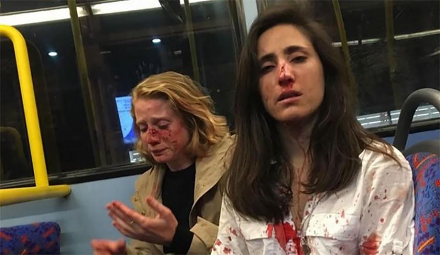 London: Divljački napad u autobusu