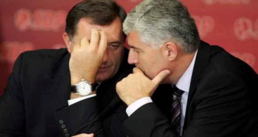 Dodik - Čović: Ponovo zajedno