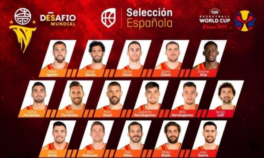 Španci žestoko oslabljeni na Mundobasketu!