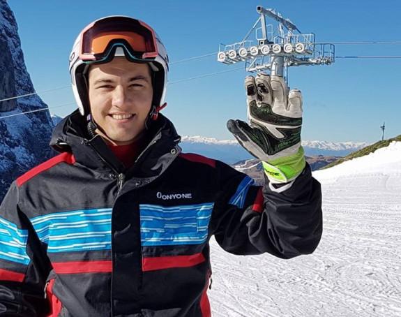 Srpski skijaš, Marko Vukićević, teže povrijeđen!