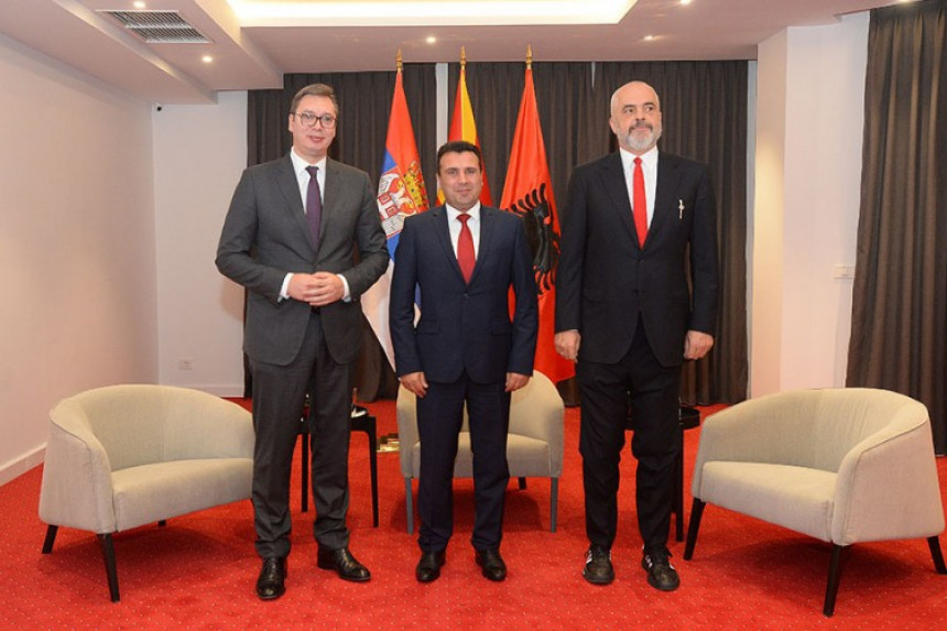 Vučić, Zaev i Rama o malom Šengenu u Ohridu