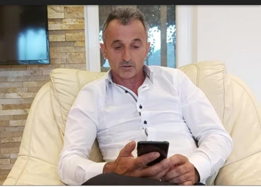 Nakon hapšenja, major Pejanović poderao knjižicu