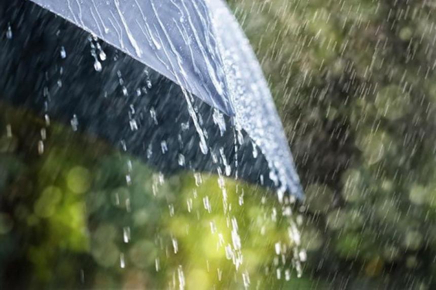 Danas pretežno oblačno sa kišom