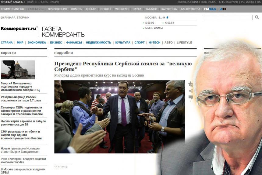 """""""Dodiku izolacija, Srpskoj sankcije?!"""""""