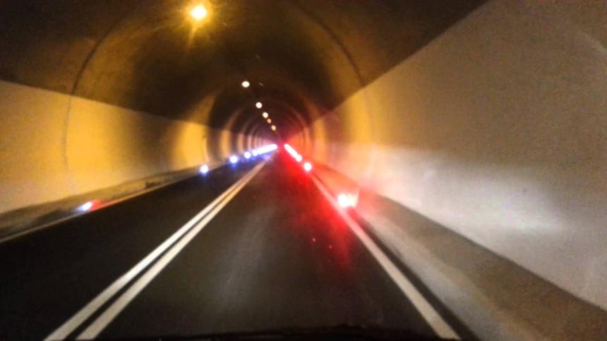 Odron u rejonu novog tunela Čemerno