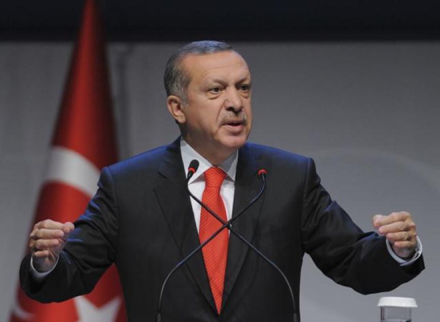 Erdogan: SAD stvorile bazen krvi u Siriji