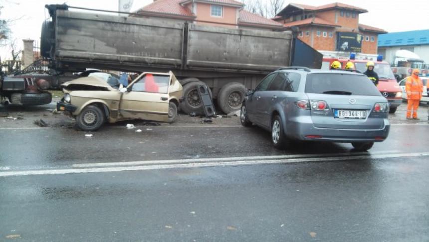 Stravična saobraćajka na Ibarskoj magistrali