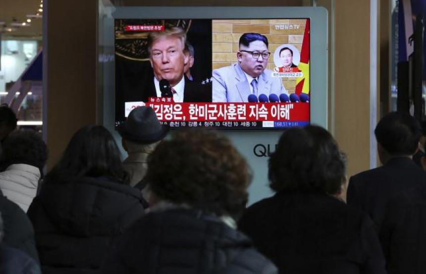 Kim i Tramp: Šta kažu kladionice?