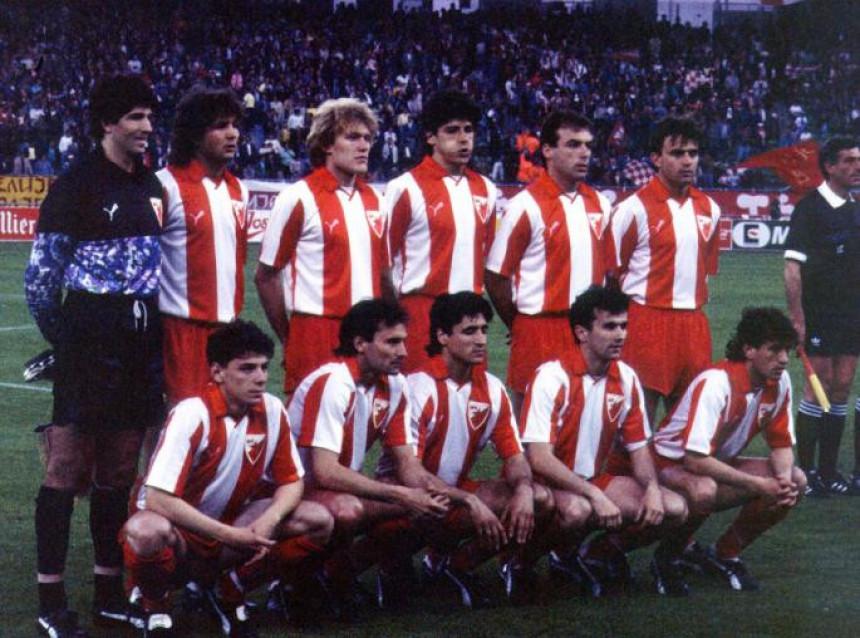 Crvena zvezda prije 25 godina prvak Evrope