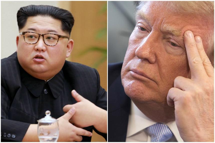 Tramp sa Kimom u junu u Singapuru