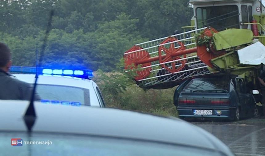 Bijeljina: Dvoje ljudi povrijeđeno u nezgodi