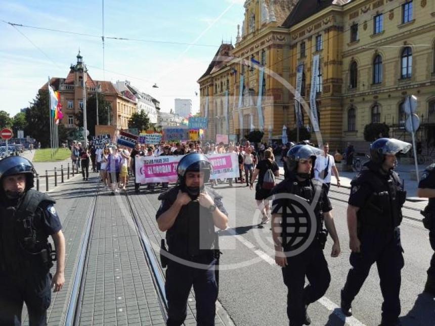 Zagreb: Održan 16. ''Prajd''