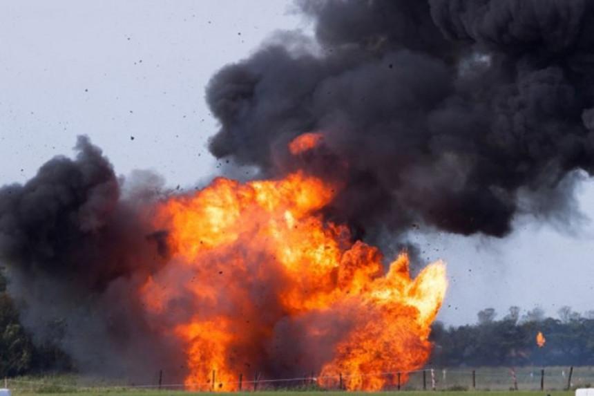 Snimak eksplozije u nuklearnom postrojenju