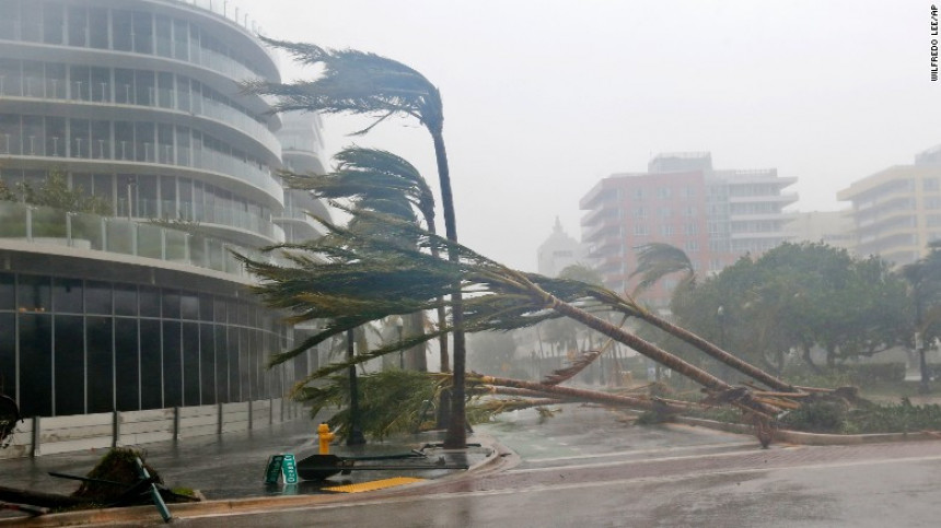 Majami: Centar grada pod vodom