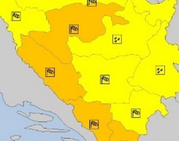 Mogući udari vjetra u Banjaluci