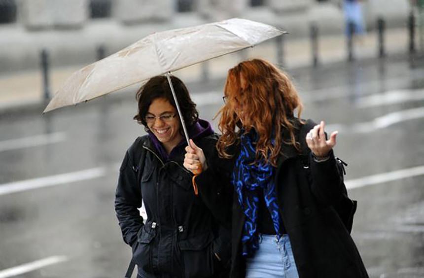 Danas nestabilno vrijeme s kišom