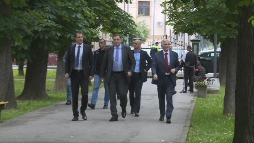 Dodik i Špirić iznenada stigli u Bijeljinu