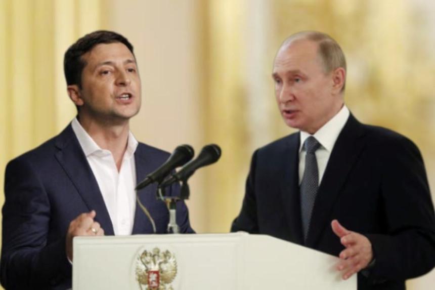 Putin razgovarao sa Zelenskim