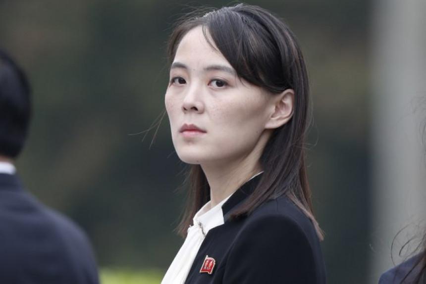 Sestra Kim Džong Una sve moćnija