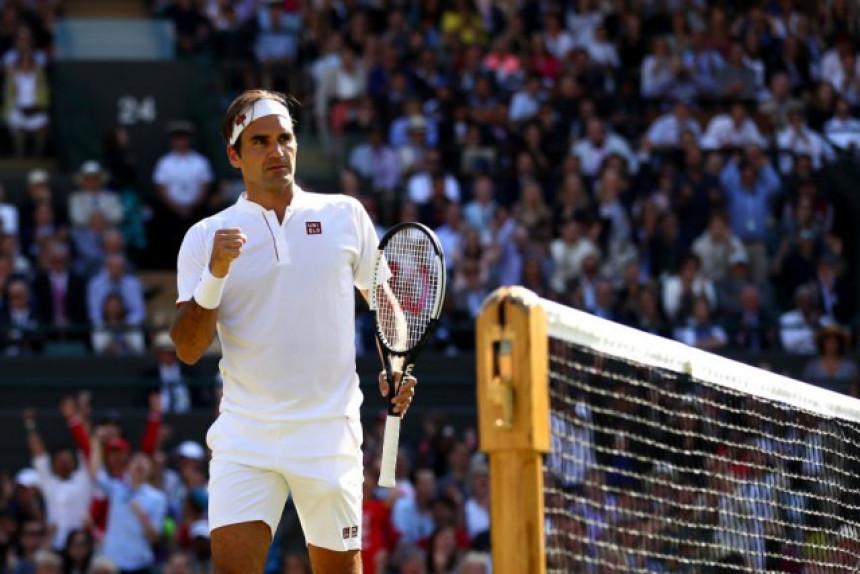 ''Kad Federer igra, ja se sva tresem!''
