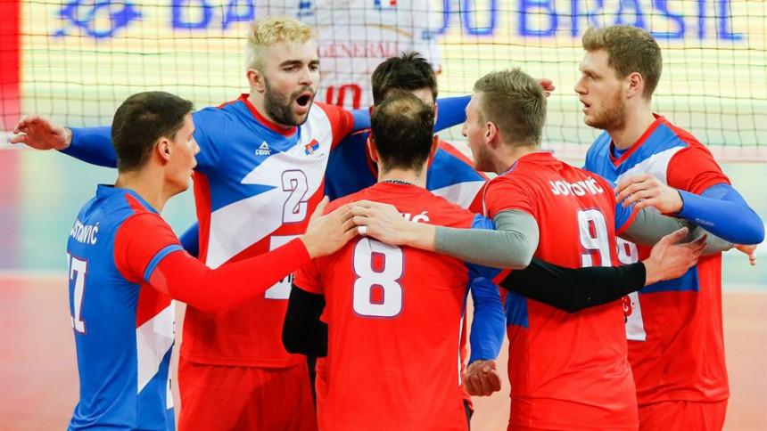 Počinje Svjetsko prvenstvo, Srbi protiv Amera!