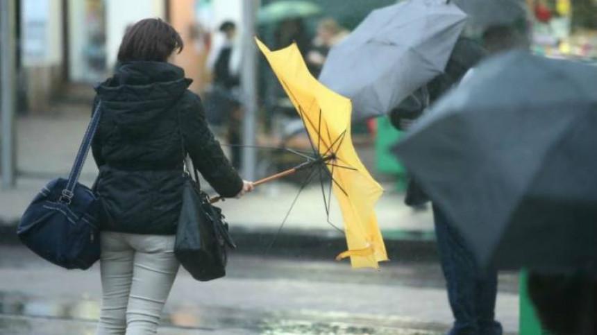 Spremite se za kišu i olujne udare vjetra
