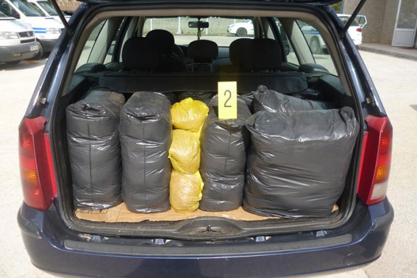 Oduzeto 105 kg rezanog duvana