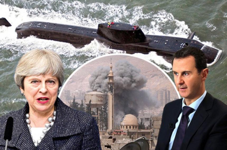Podmornice VB kreću na Siriju?