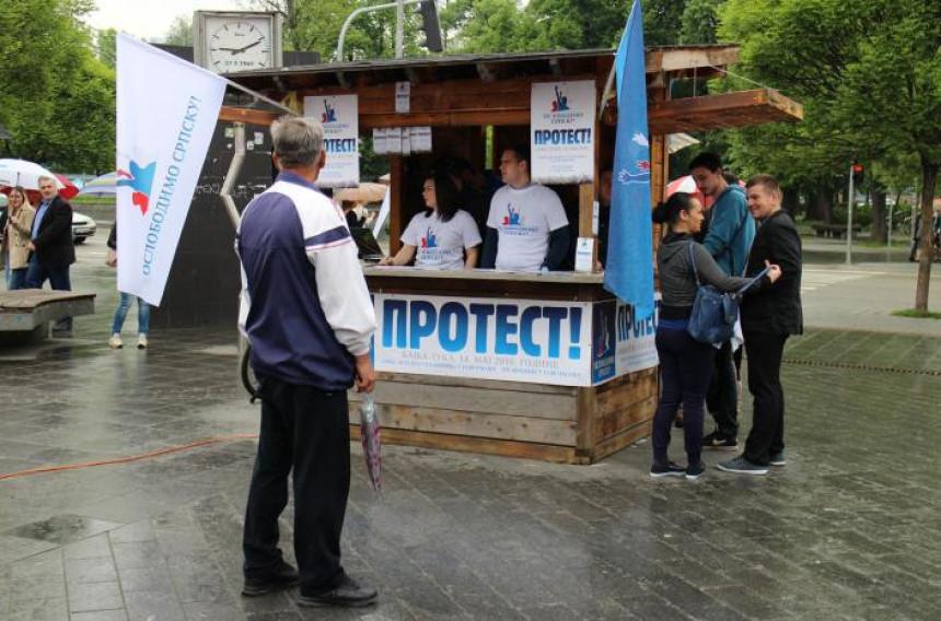 МУП опозицији забранио шетњу