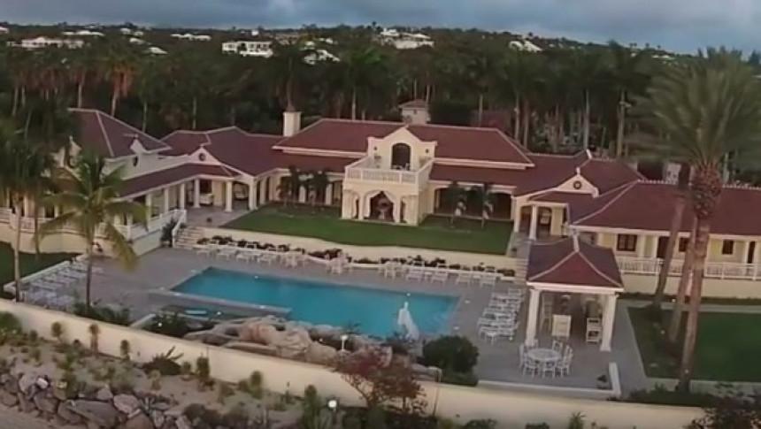 Tramp prodaje vilu na Karibima