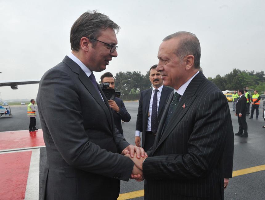 Uspješni odnosi Srbije i Turske