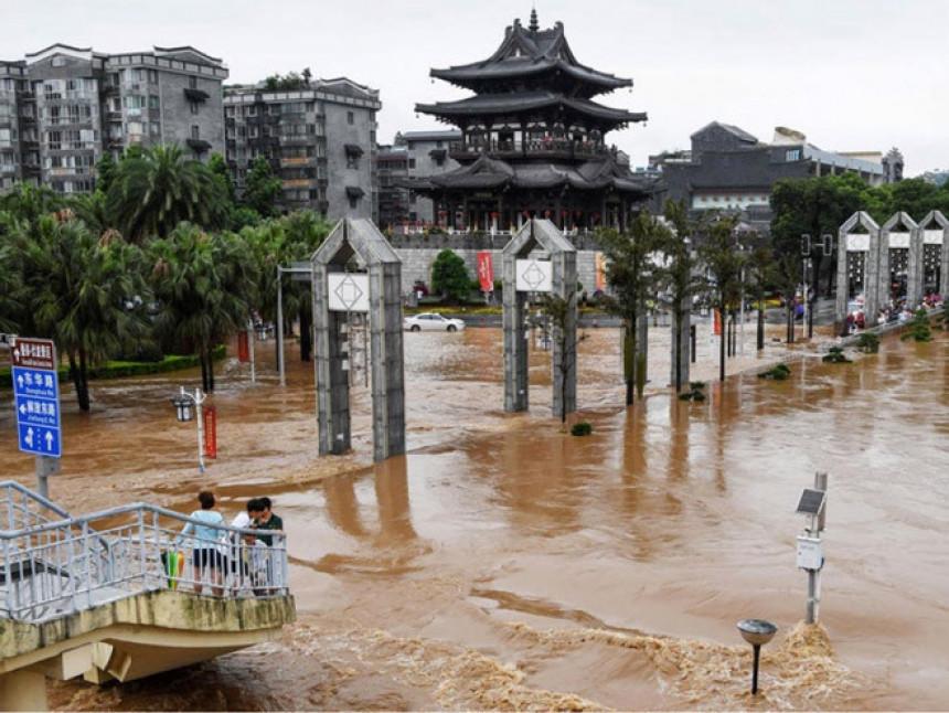 Kina: Za tren nestaju putevi