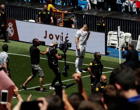 Jović od danas zvanično u Realu