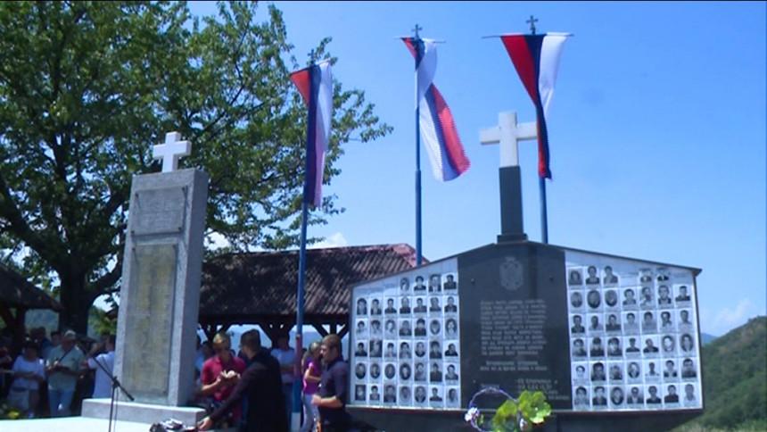 Parastos ubijenim Srbima na Zalazju