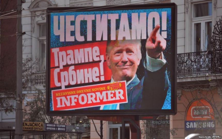 Kako se Srbi raduju Trampovoj pobjedi?