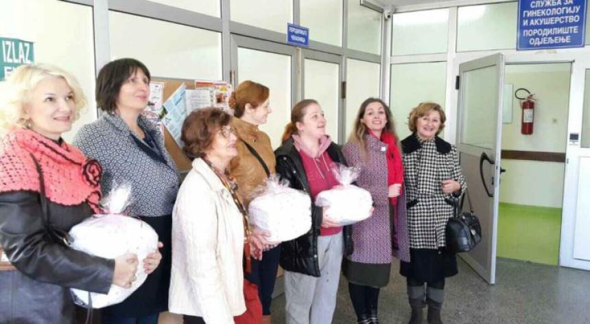Pokloni dobojskom porodilištu